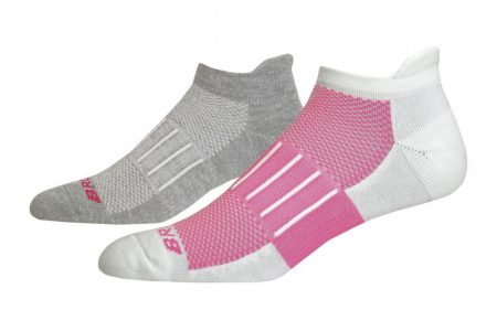Accessori | Ghost Midweight 2-Pack -Calzini Oxford/Fluoro Pink | Brooks Donna/Uomo