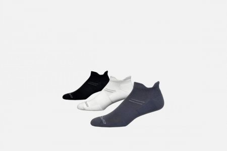 Accessori | Run-In 3-Pack -Accessori da corsa Asphalt/White/Black | Brooks Donna/Uomo