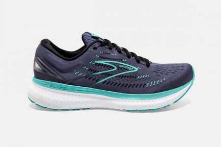 Corsa su strada | Glycerin 19 -Scarpe da Corsa Nightshadow/Black/Blue | Brooks Donna
