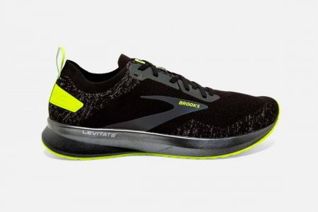 Corsa su strada | Levitate 4 -Scarpe da Corsa Black/Nightlife | Brooks Uomo