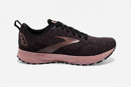 Corsa su strada | Revel 4 -Scarpe da Corsa Black/Ebony/Rose Gold | Brooks Donna