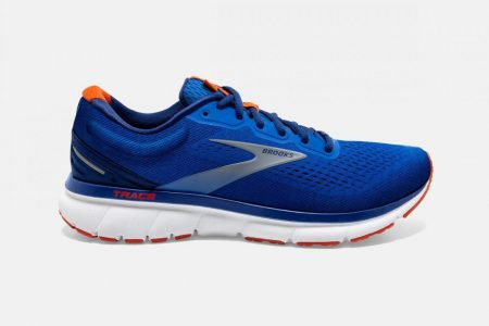 Corsa su strada | Trace -Scarpe da Corsa Blue/Navy/Orange | Brooks Uomo