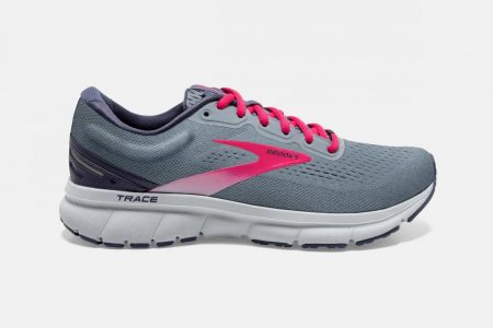 Corsa su strada | Trace -Scarpe da Corsa Grey/Nightshadow/Raspberry | Brooks Donna