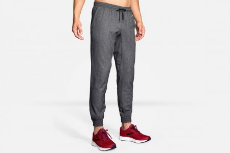 Pantaloni | Rush Jogger -Pantaloni Running Heather Black | Brooks Uomo