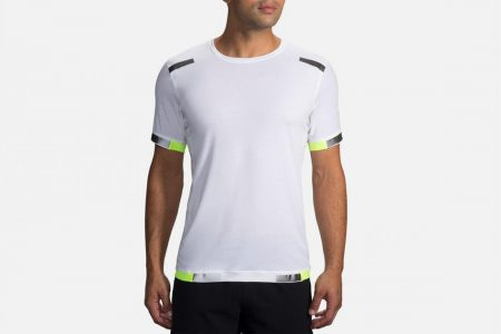 Tops | Maglietta running manica corta Carbonite -Maglie da corsa Luminosity | Brooks Uomo