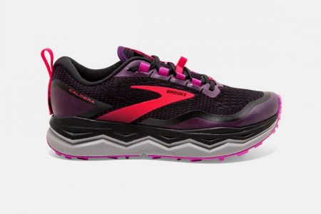 Trail | Caldera 5 -Scarpe Trail Donna Black/Fuschia/Purple | Brooks Donna