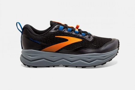 Trail | Caldera 5 -Scarpe Trail Running Black/Orange/Blue | Brooks Uomo