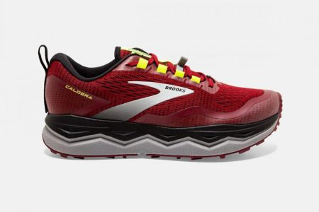 Trail | Caldera 5 -Scarpe Trail Running Red/Black/Nightlife | Brooks Uomo