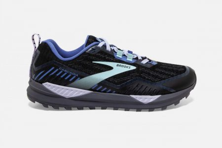 Trail | Cascadia 15 GTX -Scarpe Trail Donna Black/Marlin/Blue | Brooks Donna